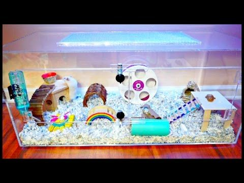 Hamster Cage Acrylic Cage Tank Terrarium Mochi S New Cage