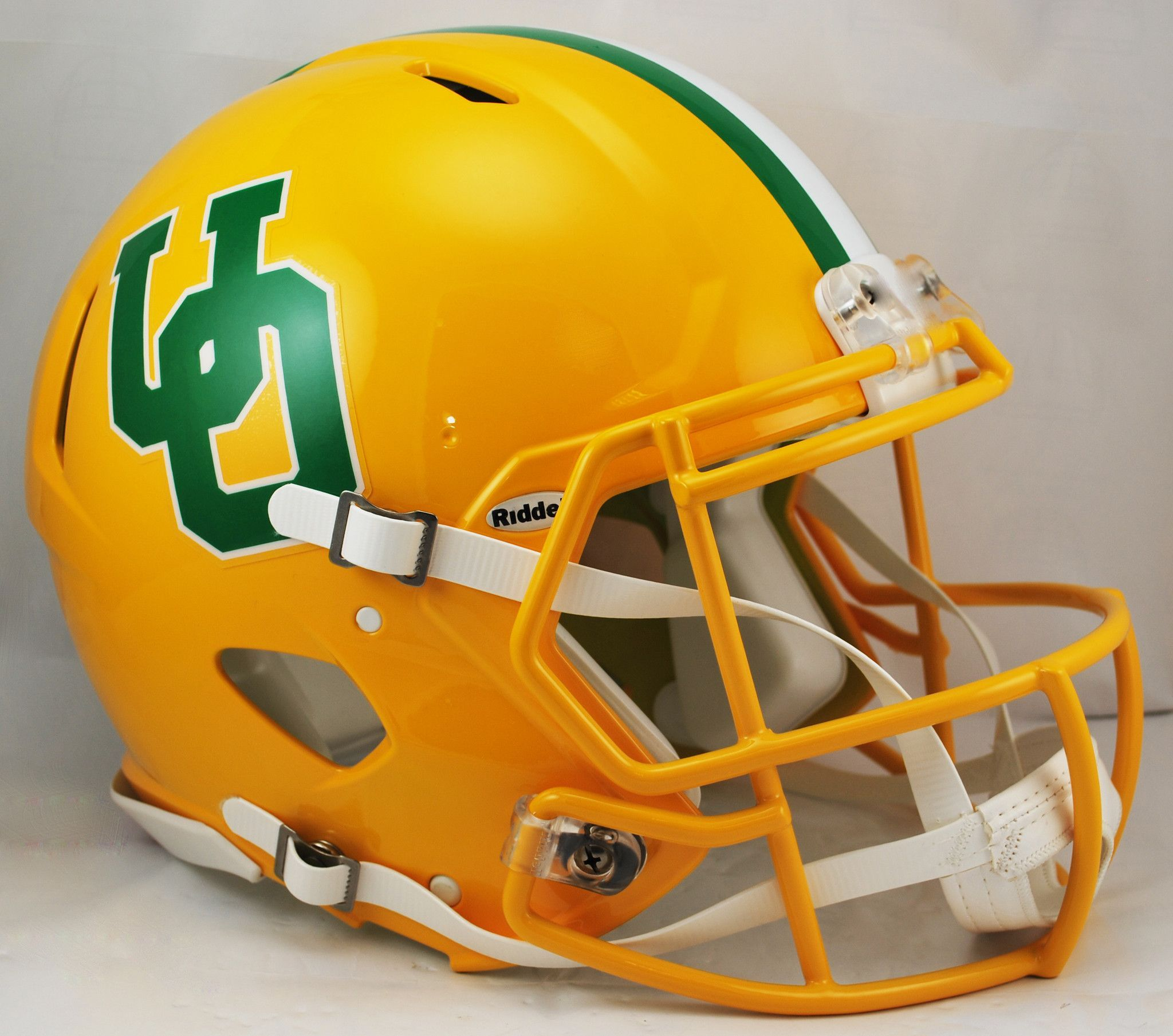 Oregon Ducks Revolution Speed Pro Line Helmet - Throwback