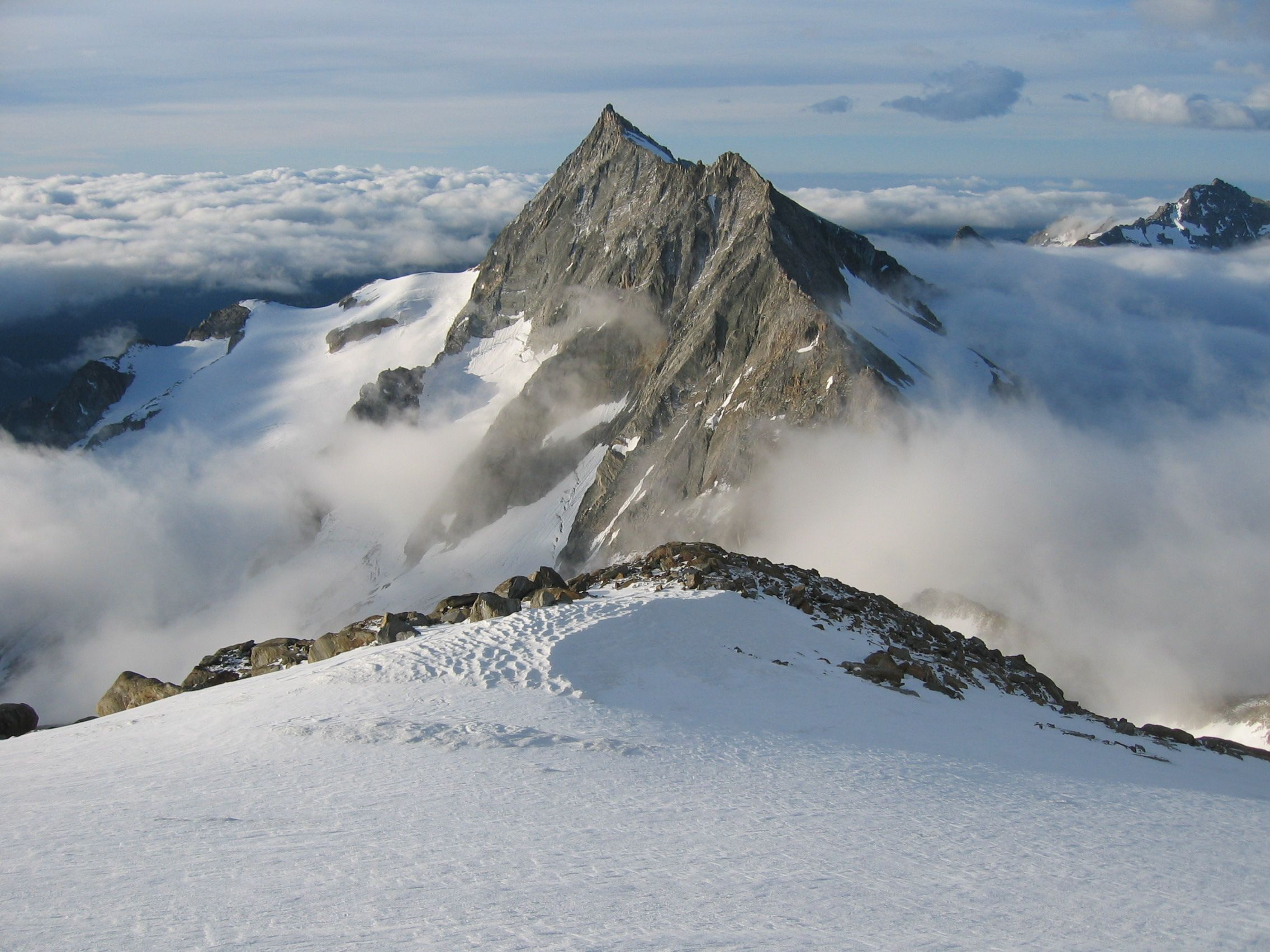 View from the Weissmies