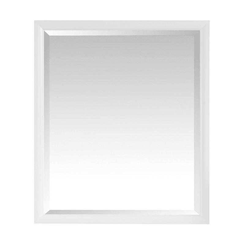 Avanity Emma M28 Modern Bathroom Mirrors White Bathroom Mirror