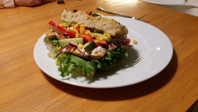 Kylling sandwich