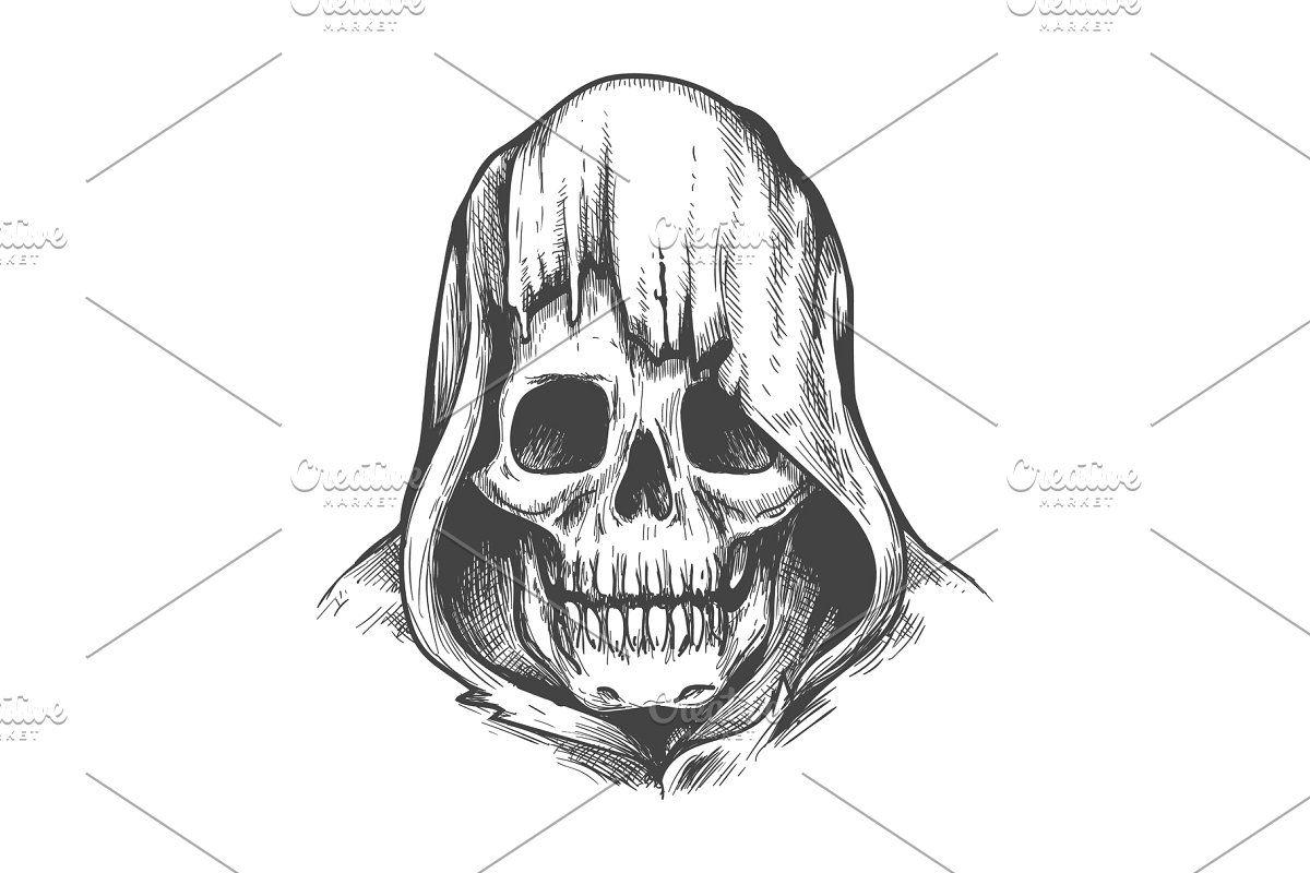Hood Skull Tattoo Skull Tattoos Evil Skull Tattoo Animal Skull Tattoos