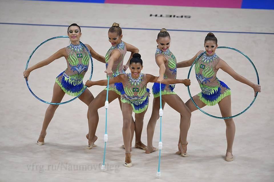 group brasil world championships 2015 rhythmic gymnastics groups pinterest. Black Bedroom Furniture Sets. Home Design Ideas
