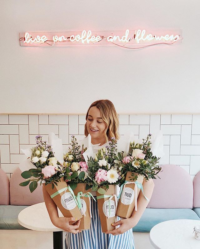 "Kate Spiers on Instagram: ""Once again I'm living out my florist dreams thanks to my beauts at @mudurbanflowers! They're hosting a popup at the shop today so the place…"""