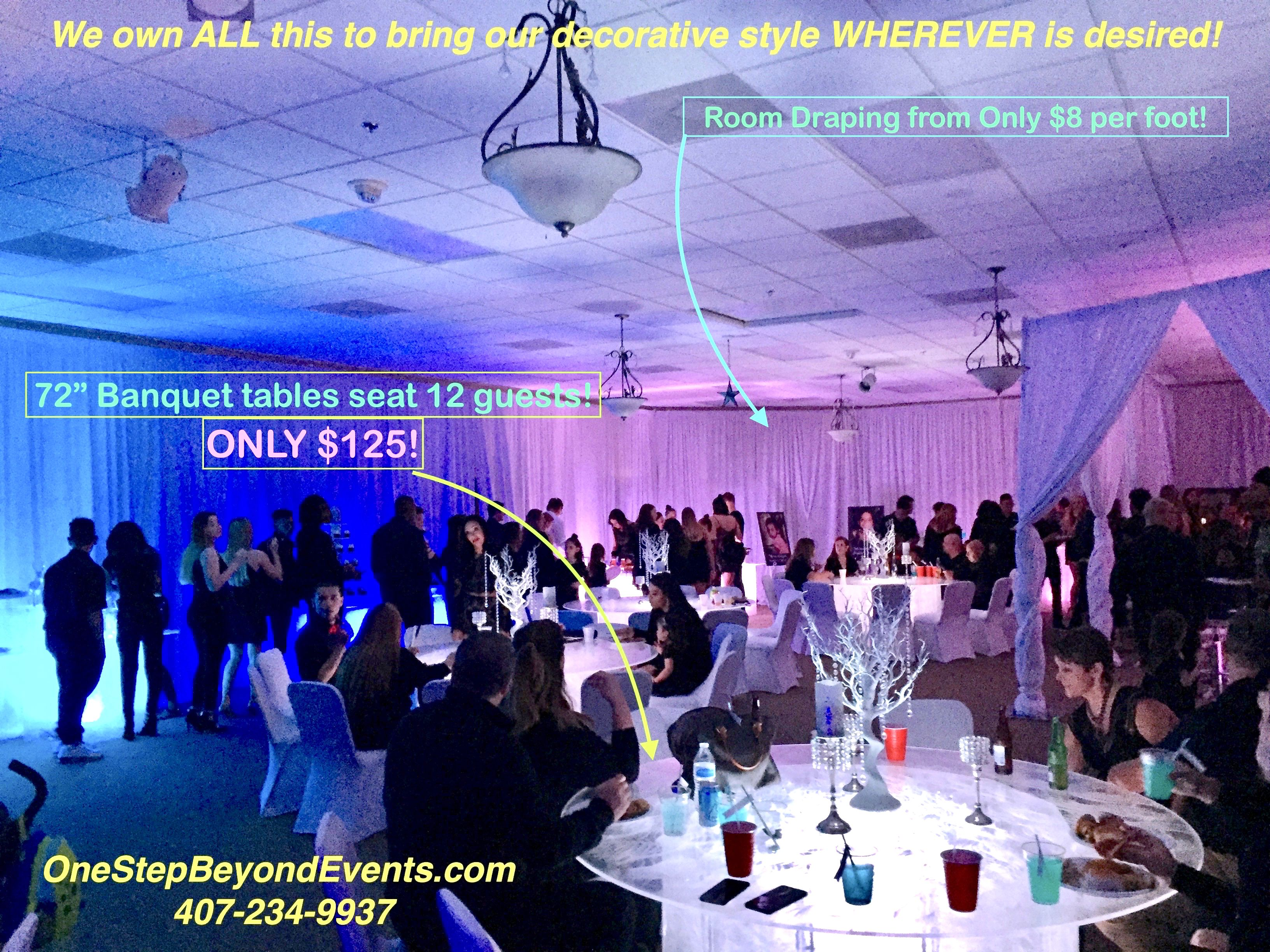 Affordable Party Rental Ideas Glow Table Led Furniture Rentals South Beach Vegas Style Light Up Glow Decor 4 X4 C In 2020 Glow Table Party Rentals Event Rental
