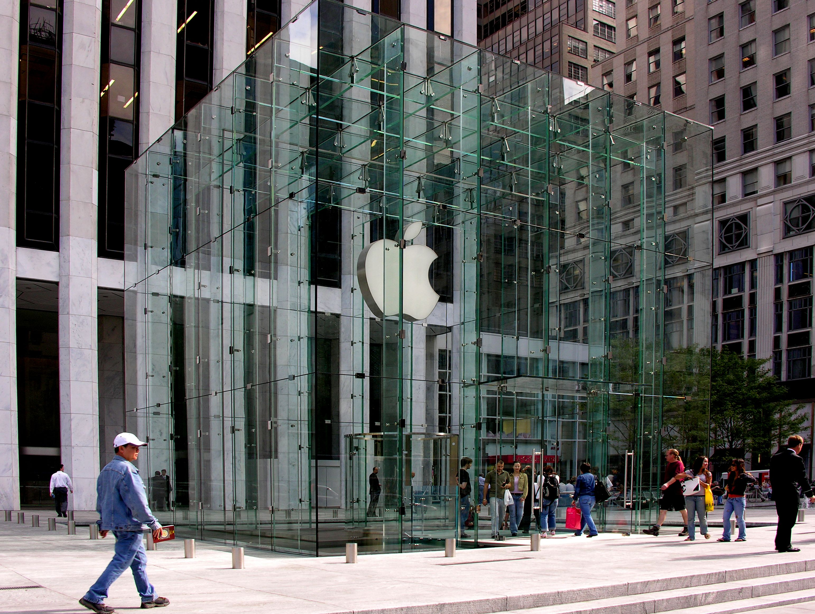 File Apple Store Fifth Avenue Jpg Wikimedia Commons Apple Store New York Tours Brand Building