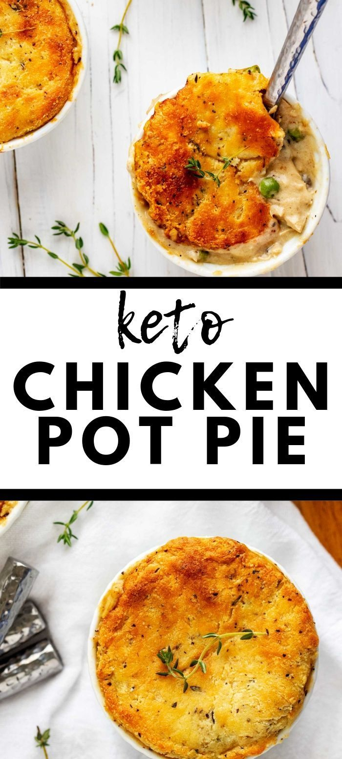 Low Carb Keto Chicken Pot Pie - Low Carb Comfort Food! - Kicking Carbs