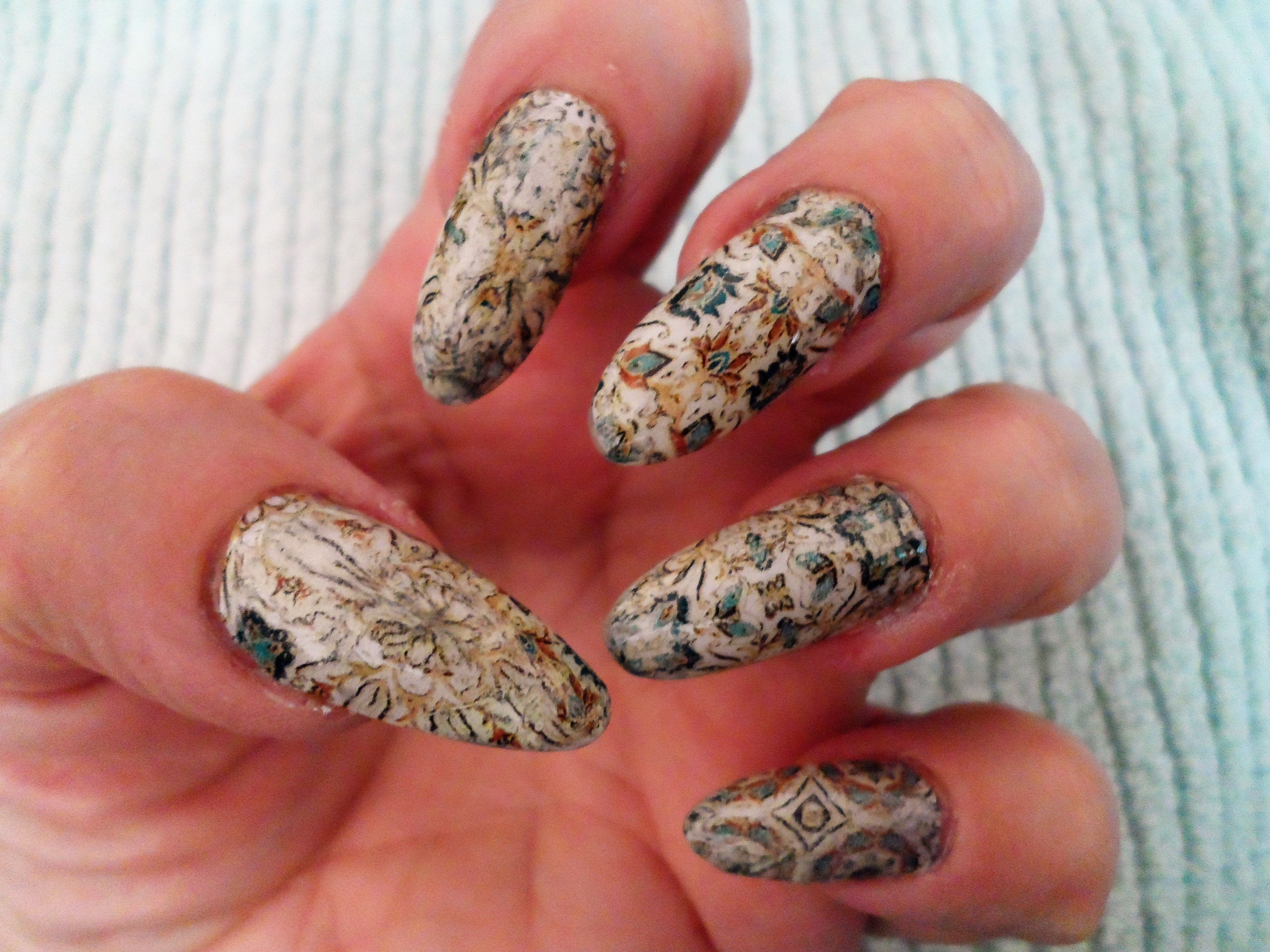 Vanilla Nail Art USA nail decals - find us on Facebook | Vanilla ...