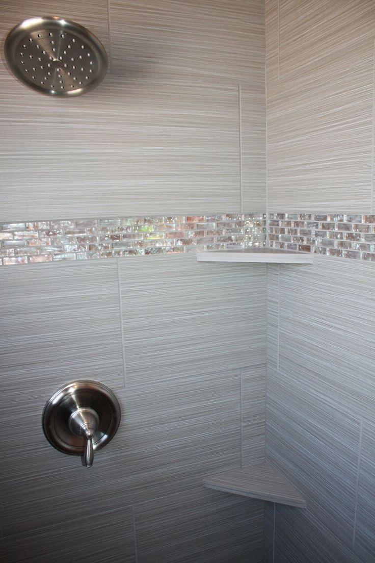 Best 25 Shower Accent Tile Ideas On Pinterest Vertical Shower Tile Accent Tile Bathroom And Master Bathroom Shower Bathroom Shower Tile Tiny House Bathroom