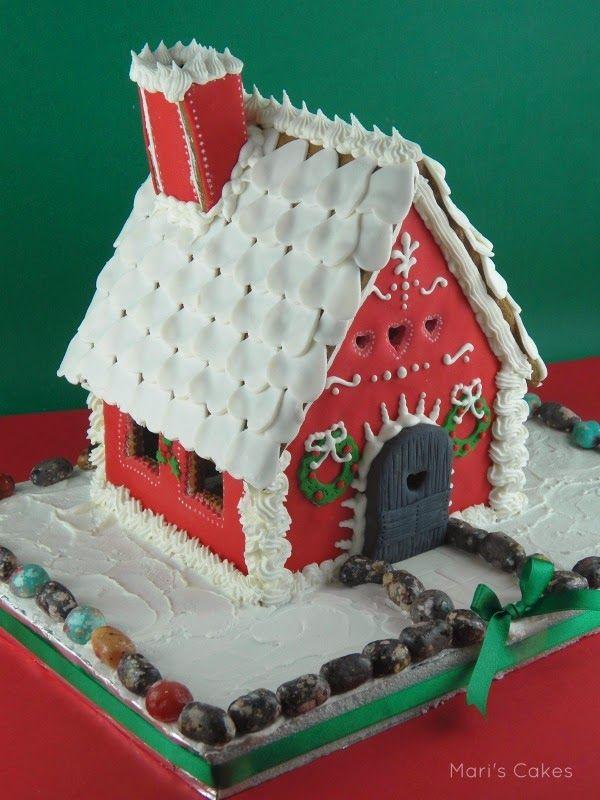 La Casita de Jengibre y Feliz Navidad Casa de jengibre