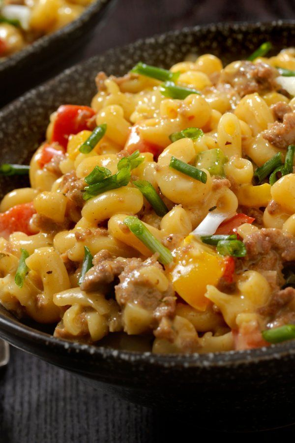 Photo of Pasta with creamy minced cheese sauce