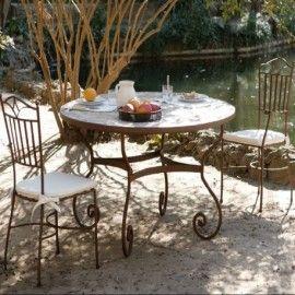Muebles De Forja Para Terraza Y Jardin Coleccion Grecia Muebles - Muebles-de-forja-para-jardin