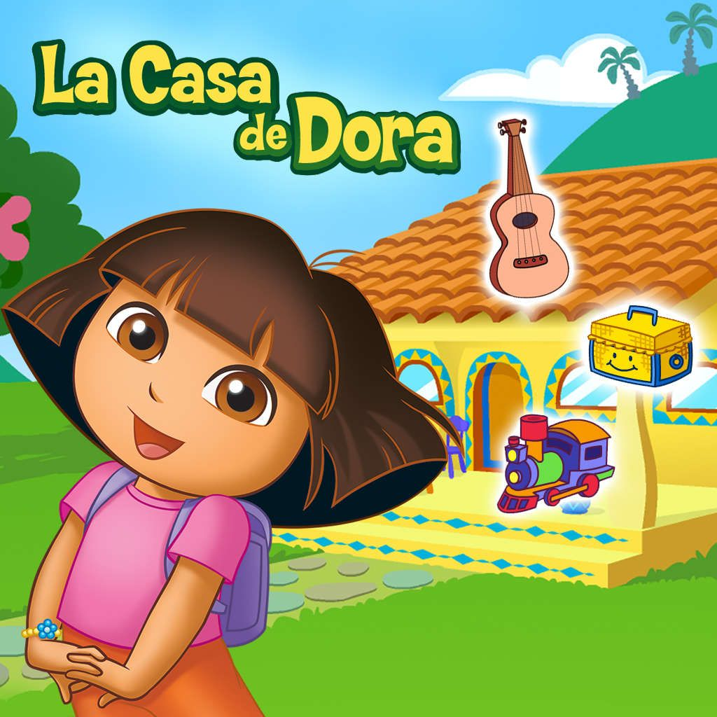 Casa De Dora New Adventures Matching Game For Kids