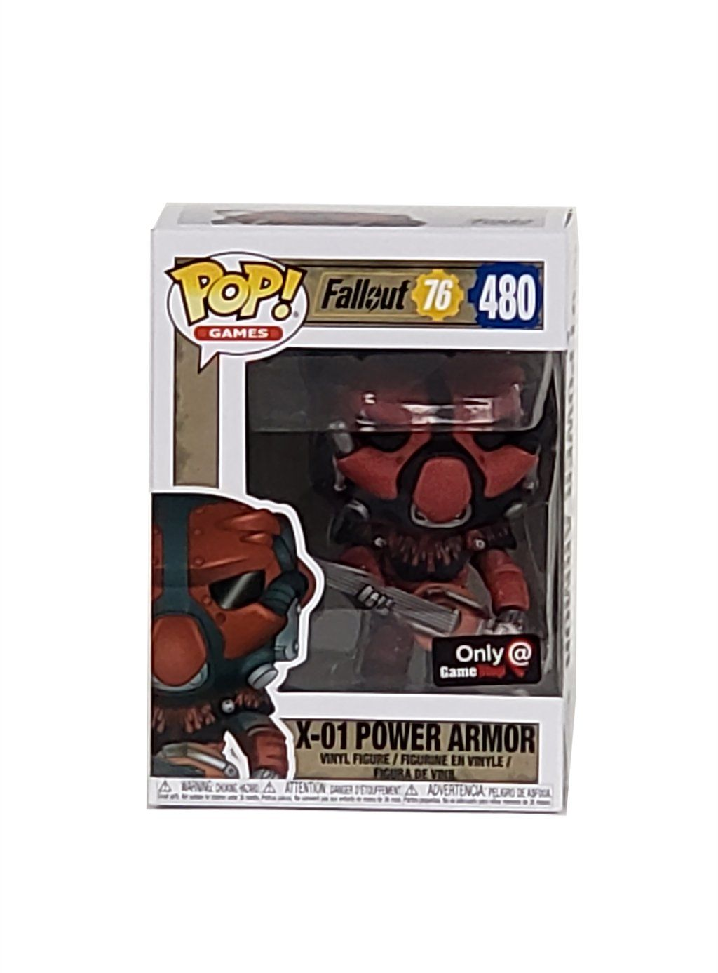 Funko POP Exclusive Games: Fallout 76 X-01 Power Armor #480