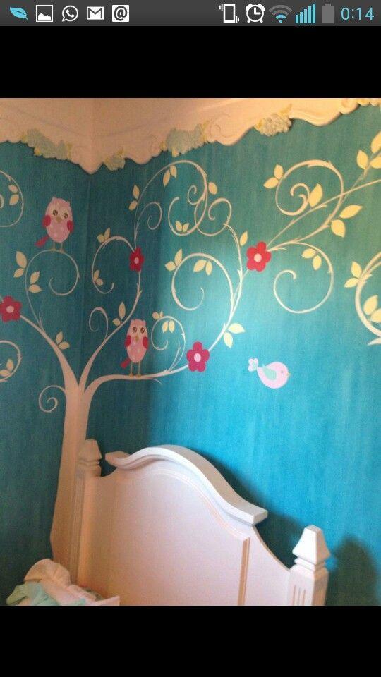 arbol en la pared