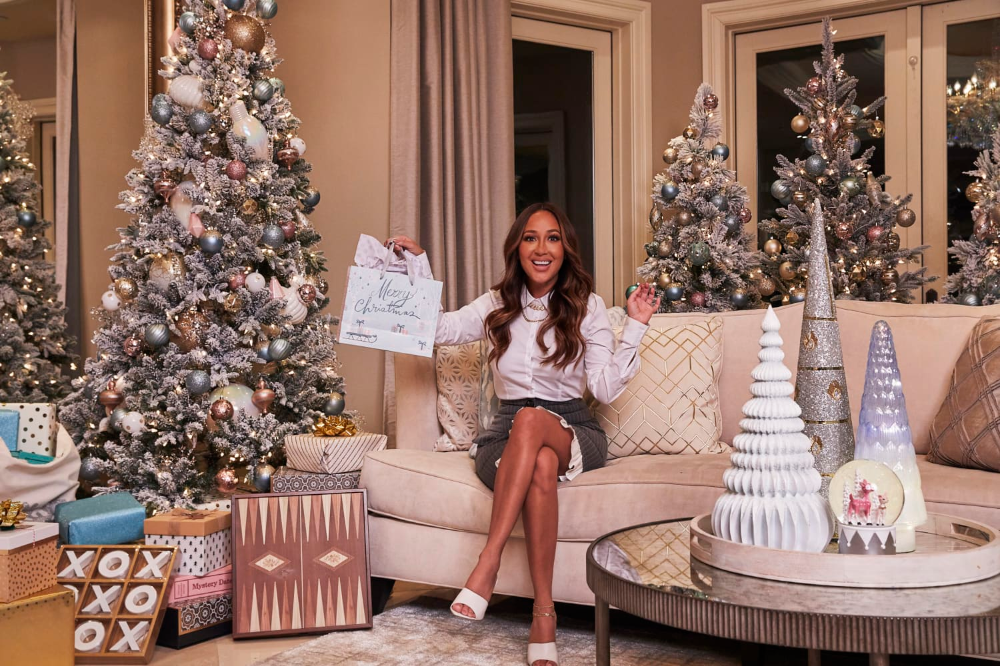 Move Over Mariah This Celeb With 36 Trees In Her House Just Might Be The New Queen Of Christmas Home Goods Wall Decor Decor Christmas Living Rooms