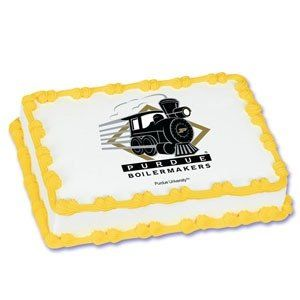 NCAA Purdue University Edible Cake Image Topper By A Birthday Place
