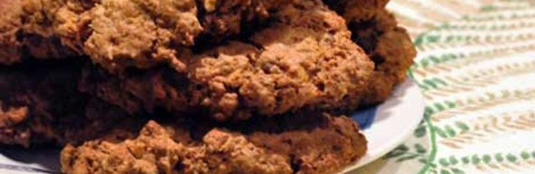 Sweet Potato, Chocolate Chip cookies with grapenuts cereal ...