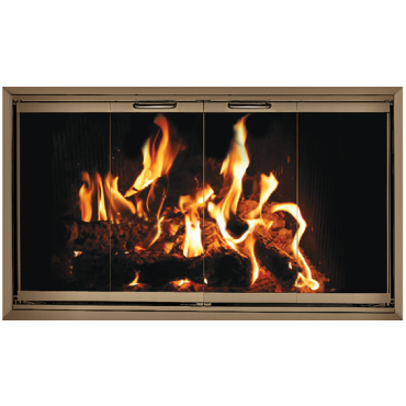 The Z Door For Majestic Fireplaces 78 Anodized Aluminum Frame