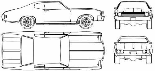 chevrolet chevelle sport coupe  1972