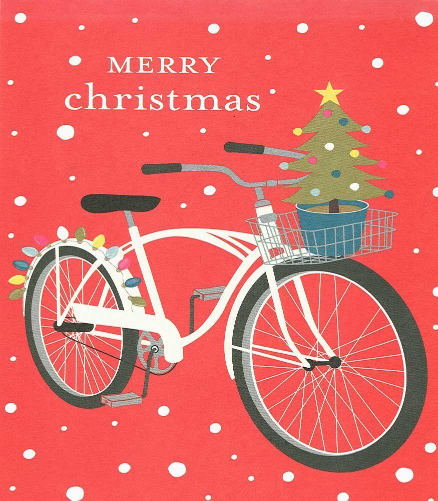 Holiday Bicycle Boxed Christmas Cards | Bicycling | Pinterest ...