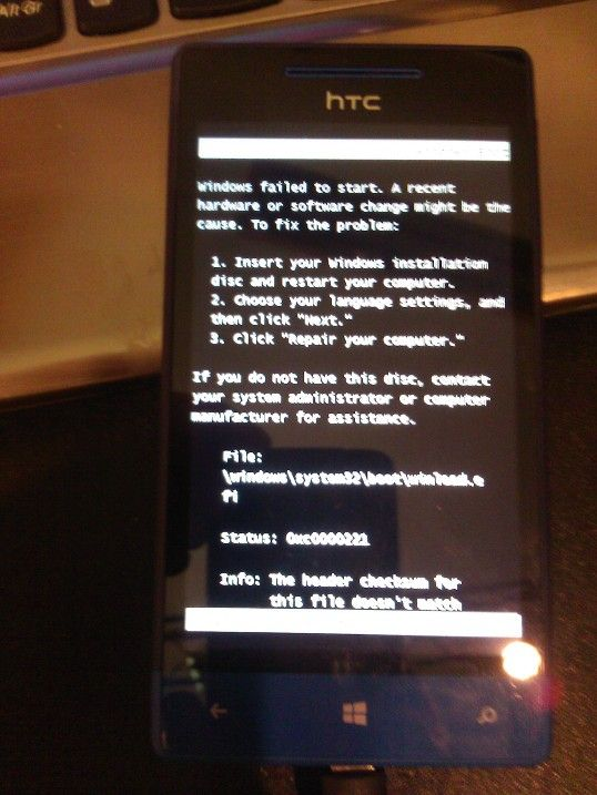 HTC boot error | Smartphones failing to boot | Boots, Smartphone, Fails