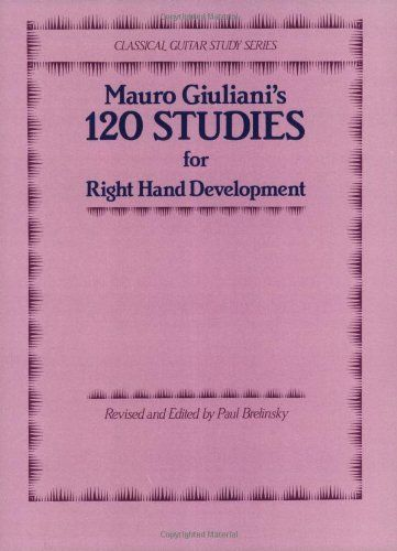 120 Studies for Right Hand Development (Classical Guitar Study ...