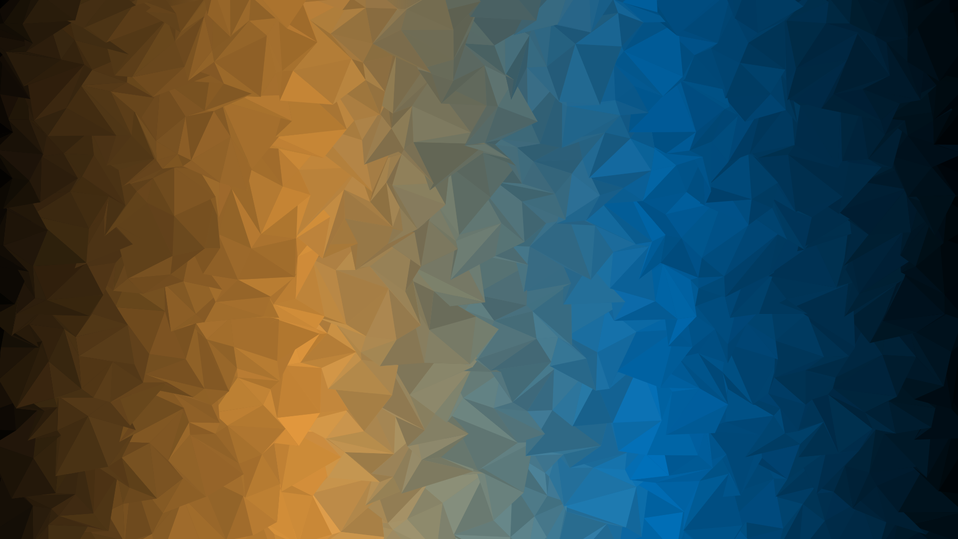 Abstract Teal And Orange Background