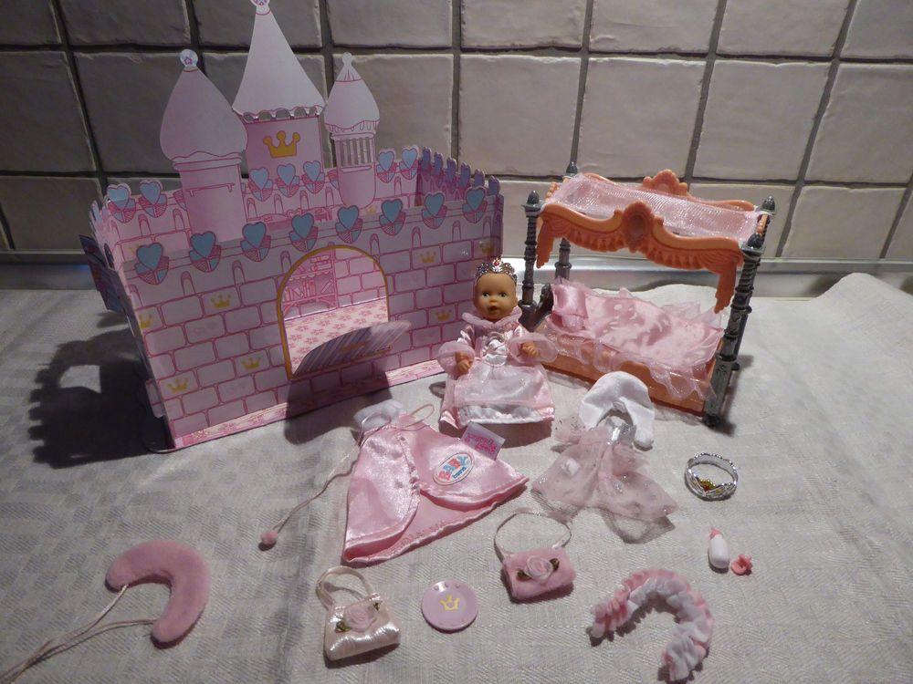 Mini Baby Born Puppe Prinzessin Schloss Steffi Love Bett Zubehor