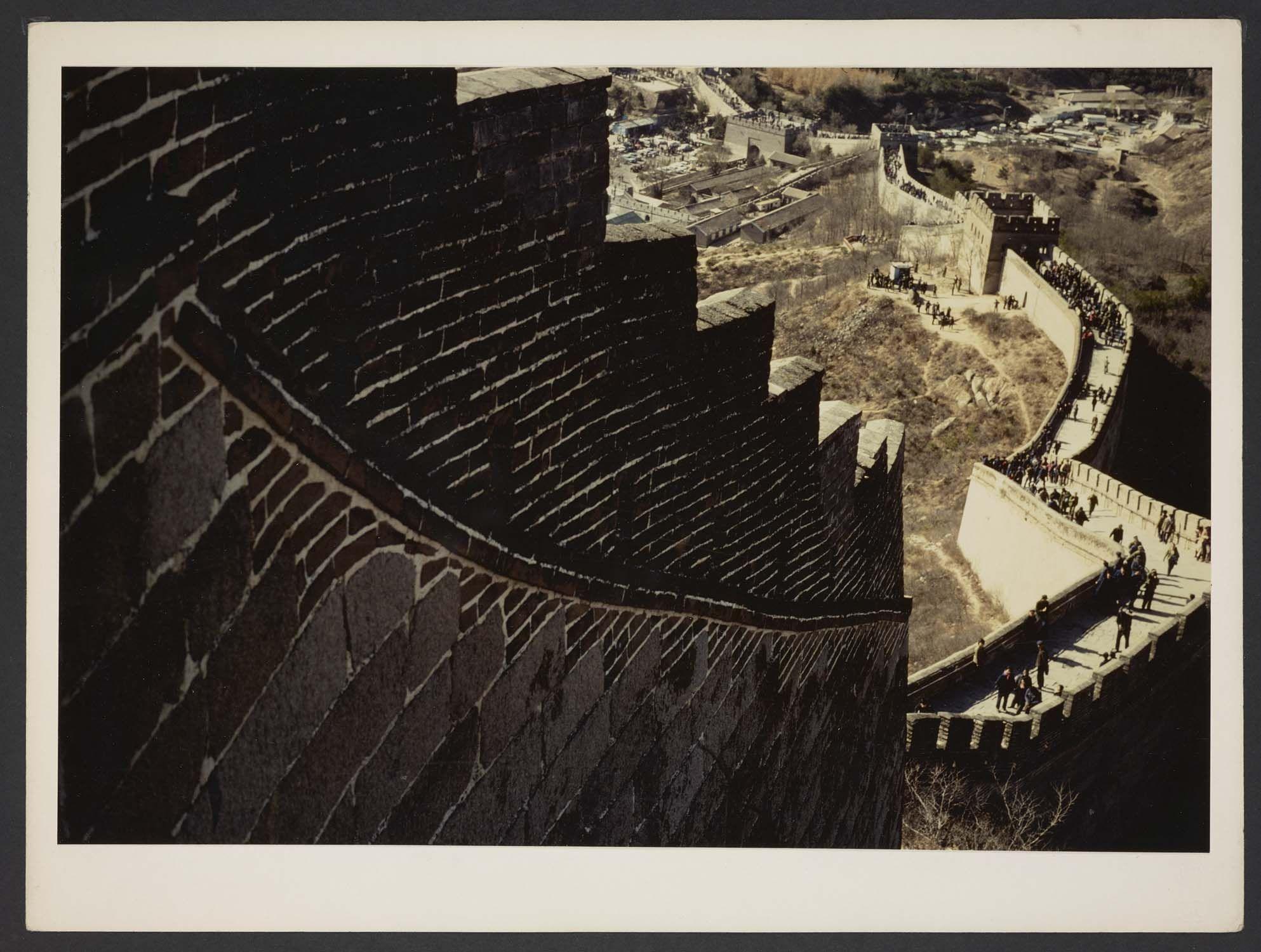 Michel Delaborde, Beijing (Pékin), (la muraille de Chine) 1981-1982. © Ministère de la culture (France), Médiathèque de l'architecture et du patrimoine, Diffusion RMN-GP