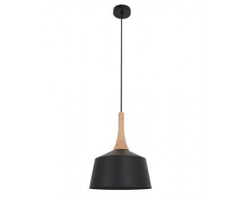 Beacon $89 Husk 270mm Pendant in Matte Black/Ash | Modern Pendants | Pendant Lights | Lighting