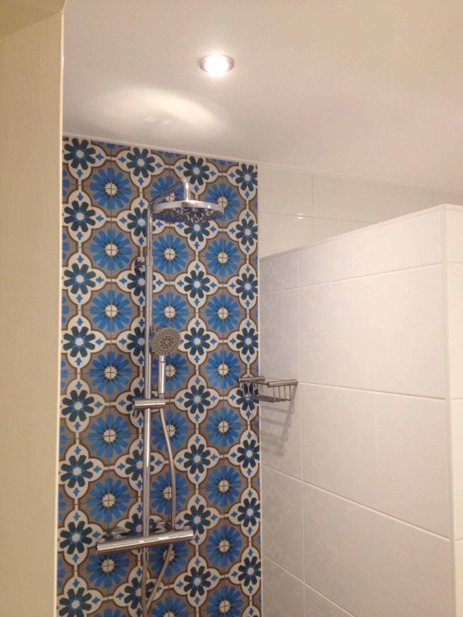 de portugese tegeltjes in onze douche badkamerinspiratie