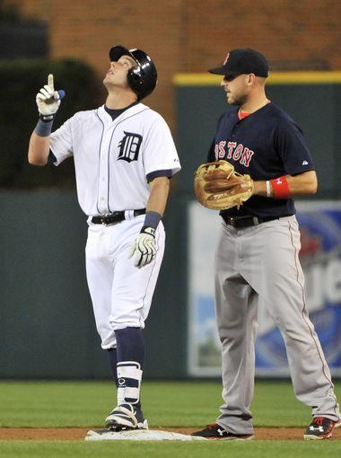 Iglesias Mccann Clash During Tigers Loss Michigan Sports Sports Detroit Tigers