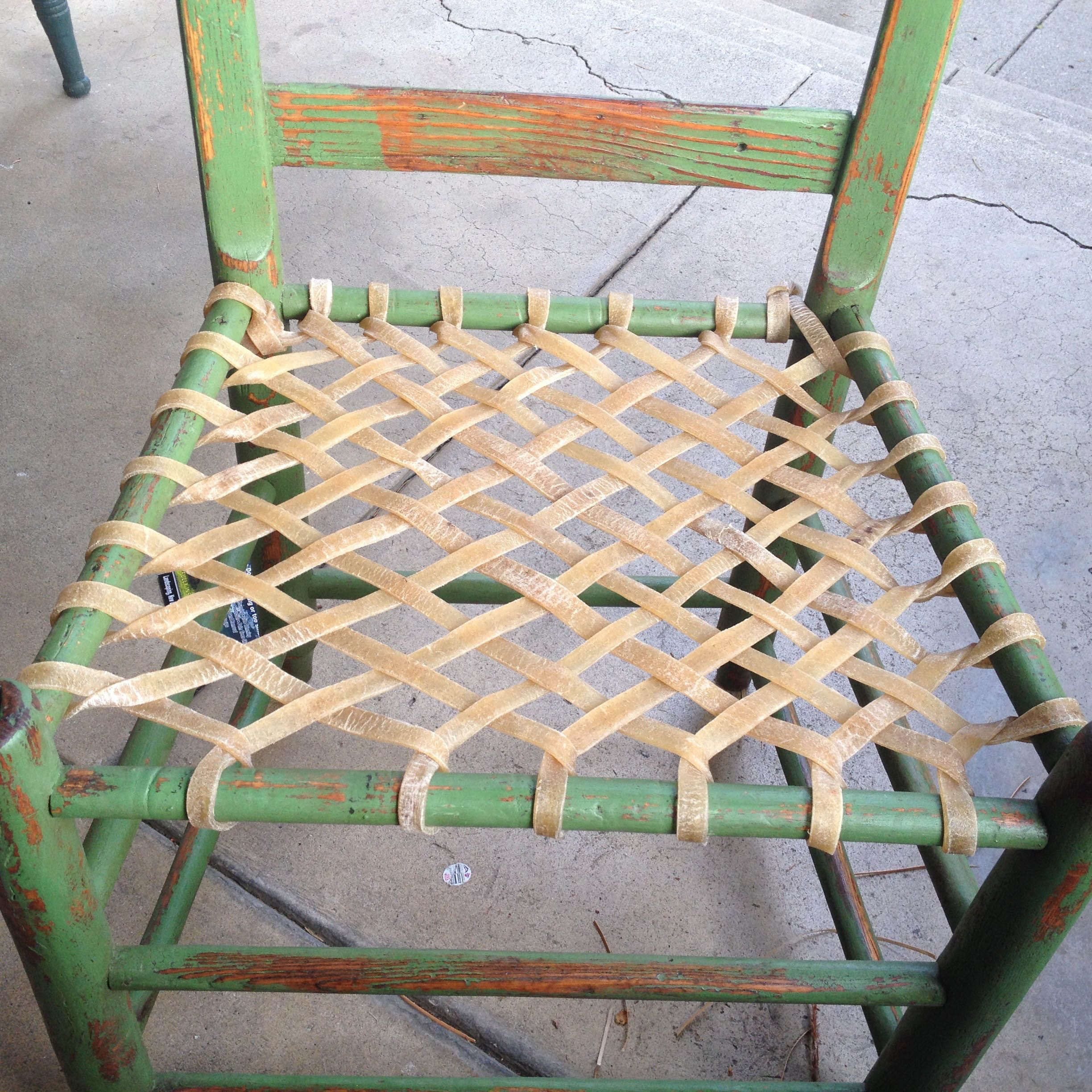rope bottom chair kids study table and resultado de imagen paèr rush seat weaving