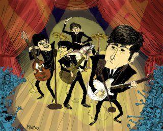 Beatle Mania! at Phil McAndrew Illustrations  Comics