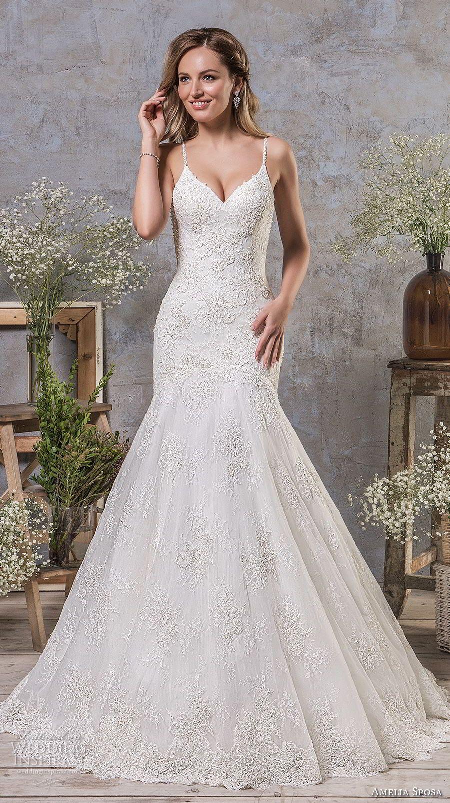 Amelia Sposa Fall 2018 Wedding Dresses Wedding Inspirasi Amelia Sposa Wedding Dress Drop Waist Wedding Dress Wedding Dresses
