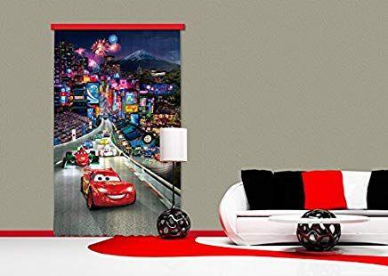 Gardine/Vorhang FCC L 4100 Kinderzimmer Disney Cars