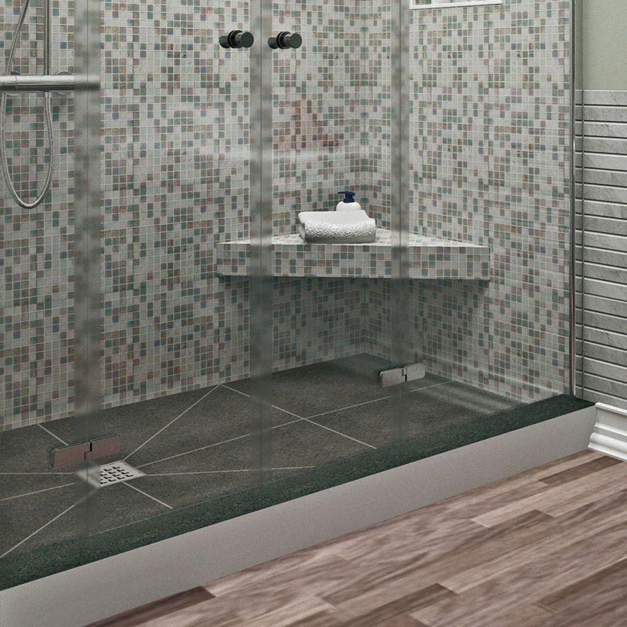 Sitzbank für Bad und Dusche befliesbar FLOAT in 2020