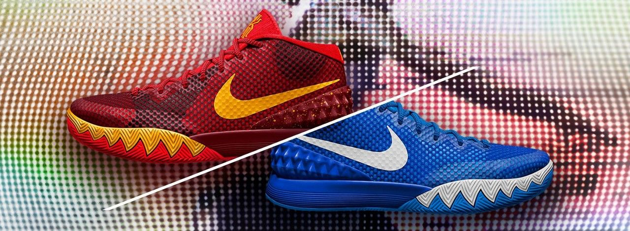 de2fc811fdb4 kyrie irving unveils the kyrie 1 nikeid shoe in brooklyn tonight