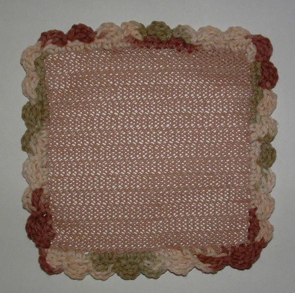 Jar Helper Crocheted From Shelf Liner Myrecycledbags