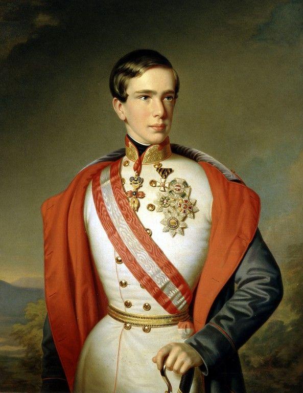 Emperor Franz Joseph As A Young Man In 1851 He Married Elizabeth In 1854 Kaiser Kaiser Von Osterreich Kaiser Franz Josef