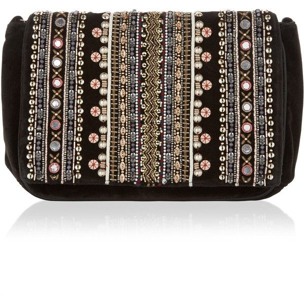Accessorize Georgia Embellished Across Body Bag ($54) ❤ liked on Polyvore featuring bags, handbags, shoulder bags, sequin purse, embellished handbags, sequin handbags, brown crossbody purse and brown crossbody