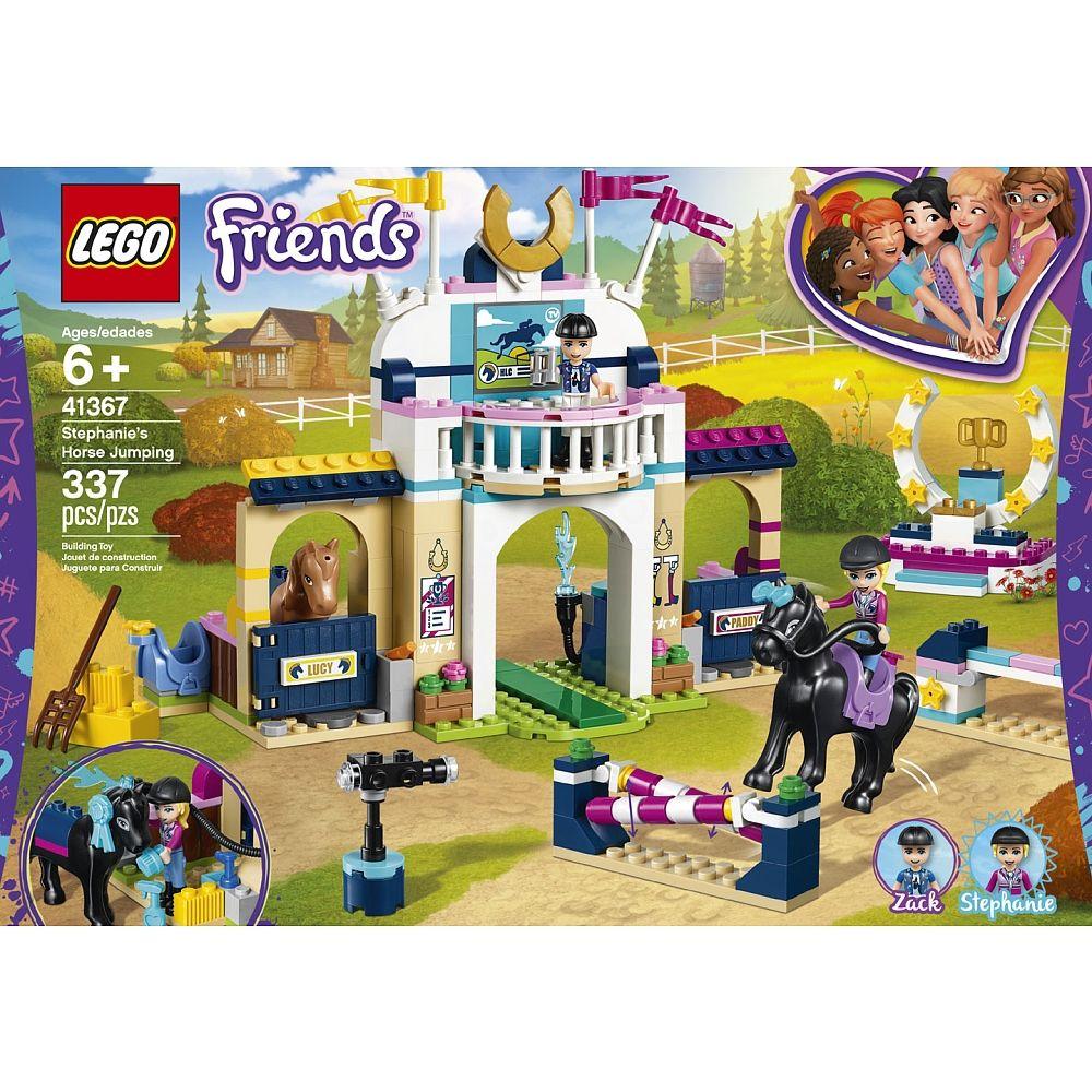 Lego Friends Stephanies Horse Jumping 41367 Toys R Us Canada