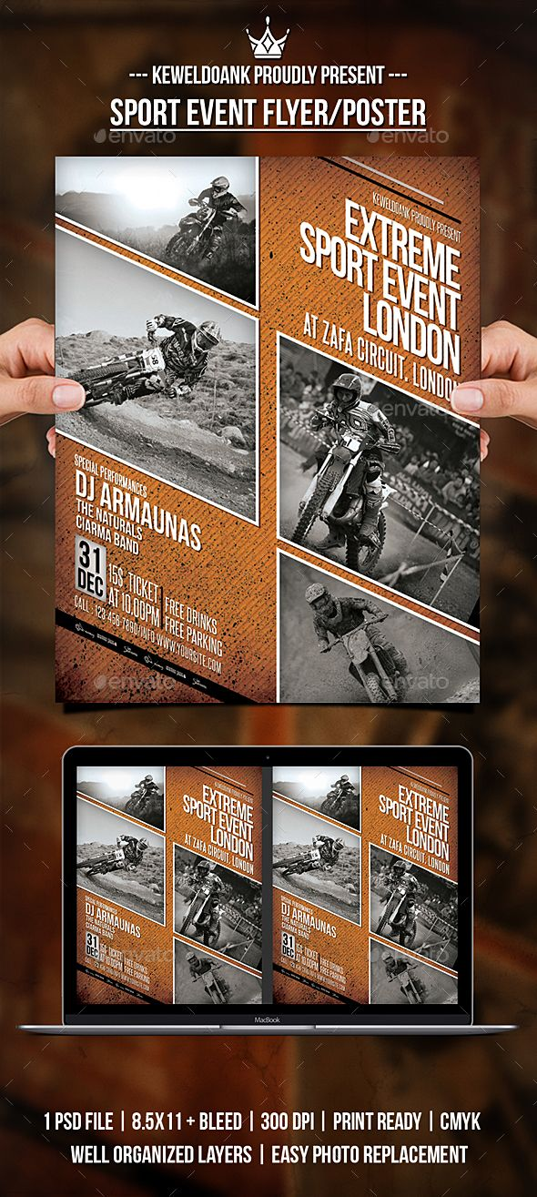 sport event flyer poster event flyers flyer template and event