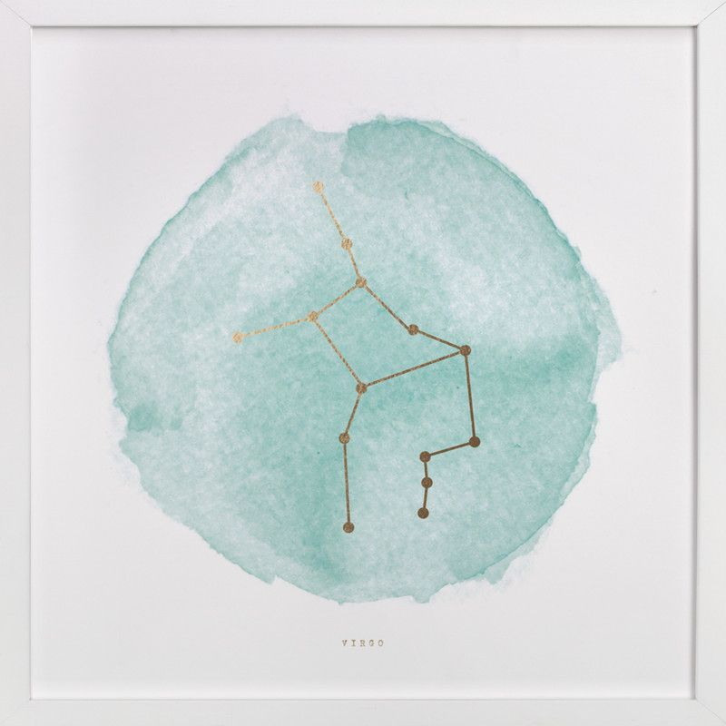 """""""Virgo"""" by annie clark in beautiful frame options and a variety of sizes."""
