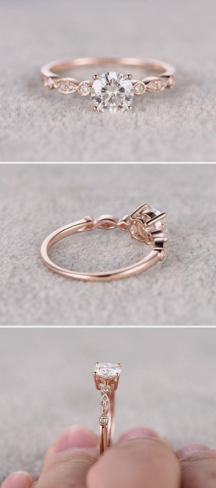 Pin by Jennifer Zablotny on Engagement Rings Pinterest Rose gold