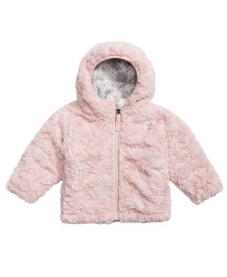 8124aa738 The North Face Snowflake Fair Isle-Print Hooded Reversible Puffer Jacket,  Baby Girls (0-24 months) - White 18-24 months