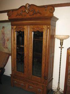 Merveilleux Antique Oak Armoire