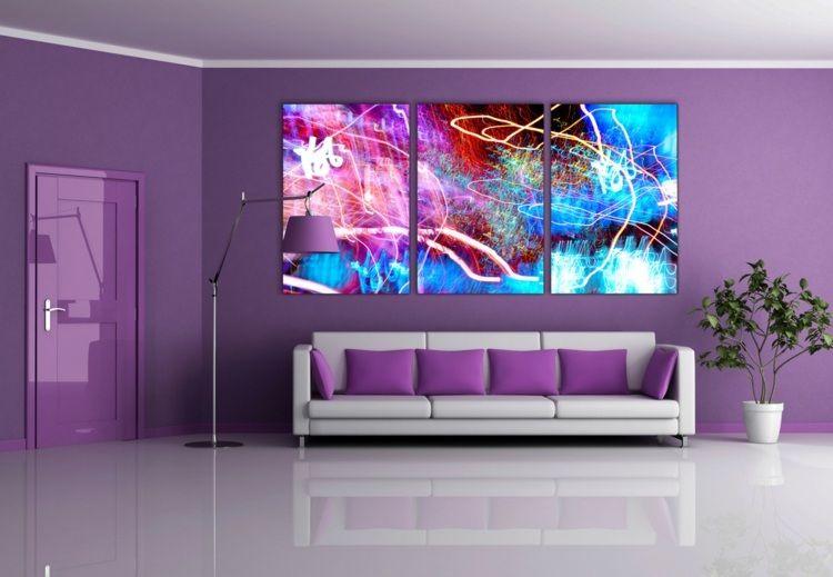 La couleur parme: l\'intégrer dans la déco intérieure | Purple rain ...