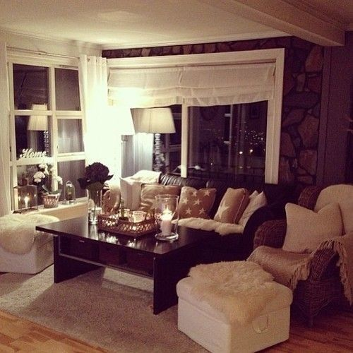 Cozy Living Room Ideas: Cozy Front Room For A First Home